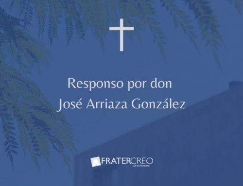 Responso por don José Arriaza González