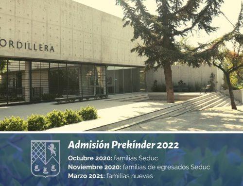 Admisión a Prekínder 2022