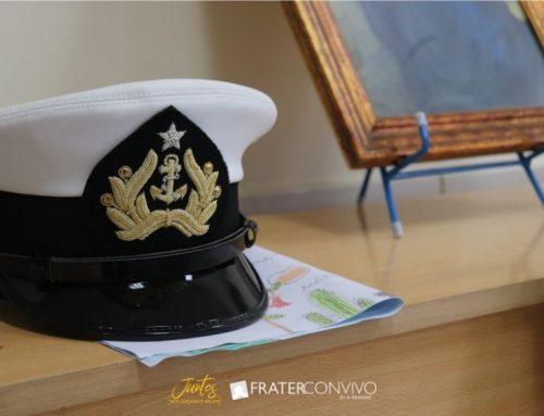 Visita del Guardiamarina Manuel Blanco (RNY)