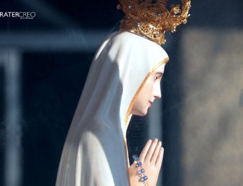 Virgen peregrina de Fátima en el Cordillera