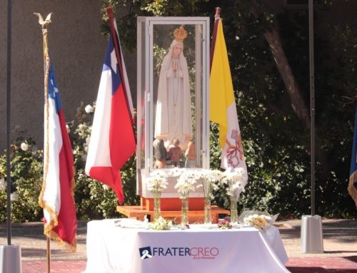 Virgen de Fátima ya está en el Cordillera